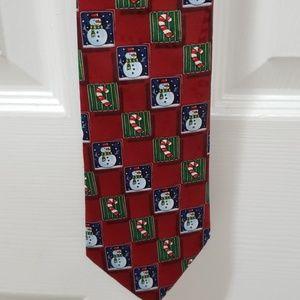 Yule Tide Greetings Hallmark Tie